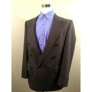 Burberry Mens Sport Coat Blazer Jacket Size 42 R